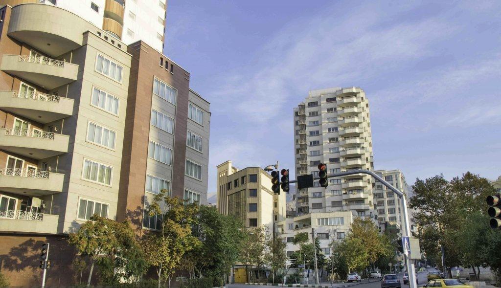 عکسی از محله فرمانیه در تهران